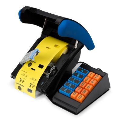 Coatcheck OneFive ticket printer + keyboard