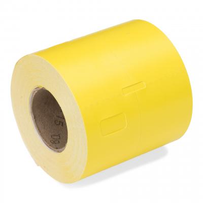 CoatCheck garderobetickets 14 rollen van 325 tickets geel