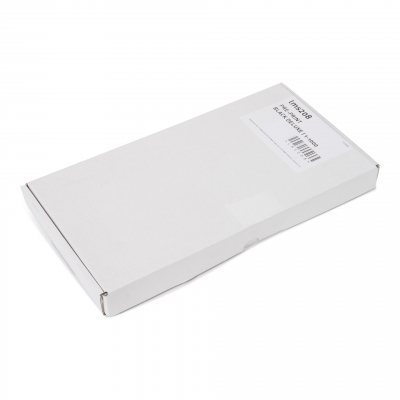 500 pre-printed self adhesive luggage tags white serie 001-500