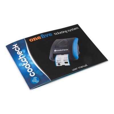 Coatcheck OneFive ticket printer
