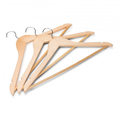 Purchase Wooden Coat Hangers Per 500 Pcs Cloakroom Co Uk