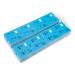 1000 voorgedrukte garderobetickets, blauw