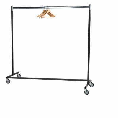 Mobile garment rail rack single (Rack)