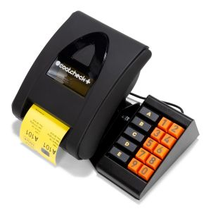 Coatcheck Ticket Printer with keyboard